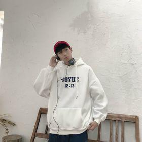 Áo Khoác Nỉ Hoodie In Boyne HDI12 Unisex Freesize Phong Cách Hàn Quốc dưới 75kg giá sỉ