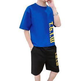 Đồ bộ mặc nhà dạo phố chất thun lạnh in chữ TGTW dễ thương, cá tính giá sỉ