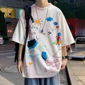 Áo thun nam in họa tiết và chữ BACK TO SCHOOL dễ thương, năng động giá sỉ