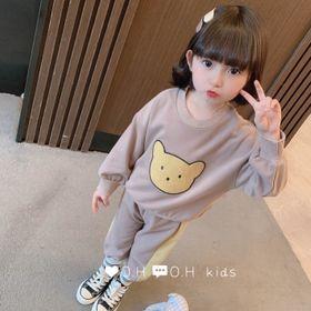Bộ quần áo trẻ em - bộ gấu giá sỉ