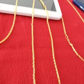 Vòng đeo cổ dây chuyền mạ vàng giá sỉ