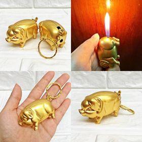 Bật lửa lợn vàng giá sỉ