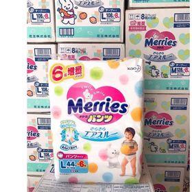 Tã Merries Cộng miếng Nội địa Nhật giá sỉ