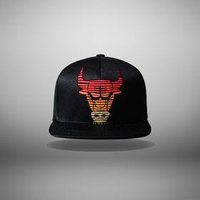 Mũ Bulls M&N Đen Bóng Đẹp giá sỉ