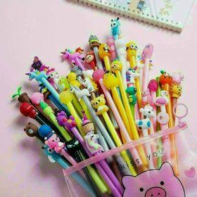 Set bút 20 chi tiết hình thú cute giá sỉ