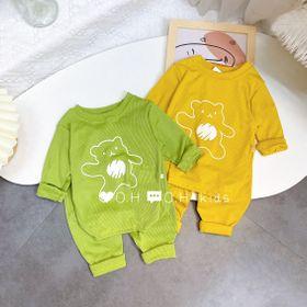Quần áo trẻ em - bộ len gân giá sỉ