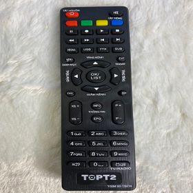 Remote Top T2 (Vinasat) – dùng chung cho remote VHM giá sỉ