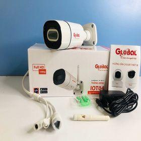 Camera ngoài trời Global IOT-04 1080p Full HD có tích hợp báo động - giá sỉ