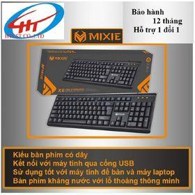 Bàn phím máy tính MIXIE X6 giá sỉ