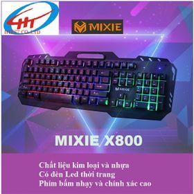 Bàn phím giả cơ có đèn MIXIE X800 giá sỉ