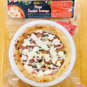Pizza smoked Sausage - pizza đông lạnh tphcm size 22cm giá sỉ