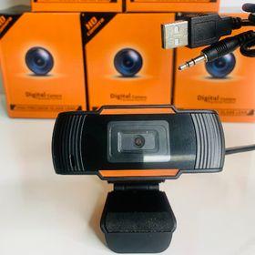 Webcam kẹp có mic 720p xoay 360 độ, hình ảnh HD rõ nét giá sỉ