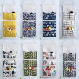 Túi vải đựng đồ treo tường 3 ngăn giá sỉ