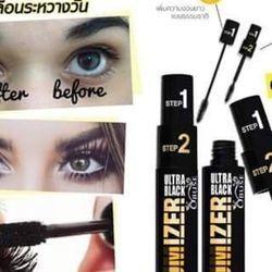 Mascara obuse tăng volumizer ultra black 2 step thái lan giá sỉ