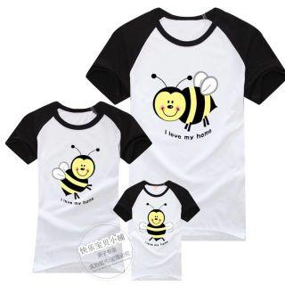 Áo thun gia đình - những chú ong chăm chỉ giá sỉ