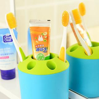 Combo 2 ly đựng bàn chải kem đánh răng vs đồ dùng gia đình giá sỉ