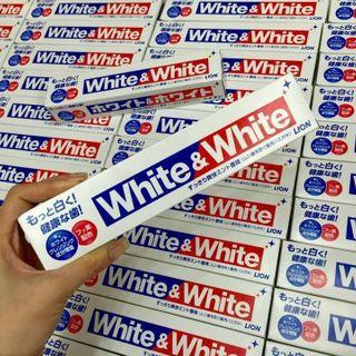 Kem đánh răng white and white lion 150g của nhật giá sỉ