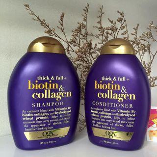 Bộ dầu gội xả tóc biotin mỹ 385ml giá sỉ