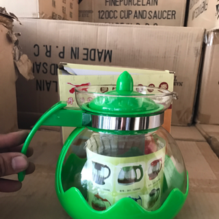 Bình lọc trà thủy tinh giá sỉ