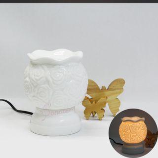 Đèn xông tinh dầu gốm bát tràng kiểu dáng sang trọng - giá tốt giá sỉ