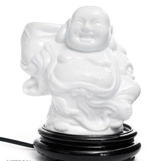 Đèn xông tinh dầu gốm bát tràng phật di lạc điêu khắc - giá tốt giá sỉ