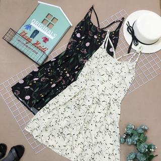 Đầm 2day hoa giá sỉ