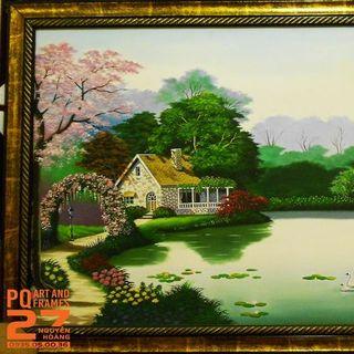 Tranh sơn dầu phong cảnh đẹp giá sỉ