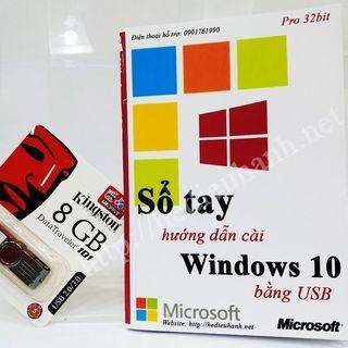 Sổ tay hướng dẫn cài windows 10 pro 32 bit bằng usb giá sỉ