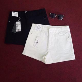 Short jean đen trắng diện hè giá sỉ