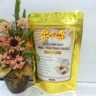 Bột mặt nạ Cám gạo Ngọc Trai Thảo Dược thiên nhiên sỉ 18k/gói 200gr giá sỉ
