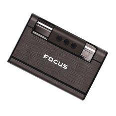 Bật lửa kiêm bao đựng thuốc lá đa năng focus giá sỉ