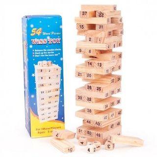 Bộ đồ chơi rút gỗ Wiss Toy giá sỉ