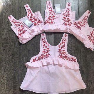 áo hoa thêu Quảng Châu giá sỉ