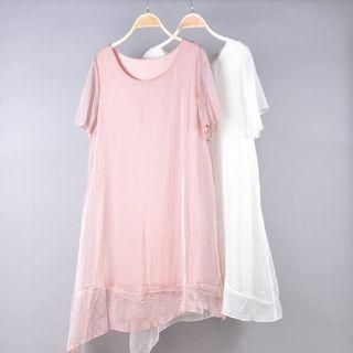 Đầm nữ lụa tầm giá sỉ