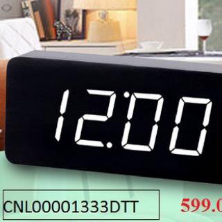 Đồng hồ để bàn led hình chữ nhật Plus to đẹp giá sỉ
