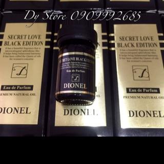 Tinh dầu nước hoa Dionel Secret Love giá sỉ