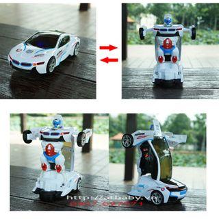 Xe điều khiển Ôtô biến hình Robot Deform giá sỉ