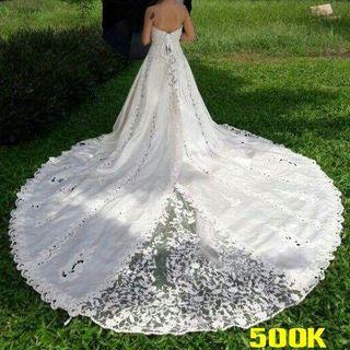 Váy cưới phi bóng 500 giá sỉ
