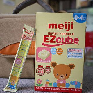 Sữa Meiji 0 thanh lẻ 27g giá sỉ