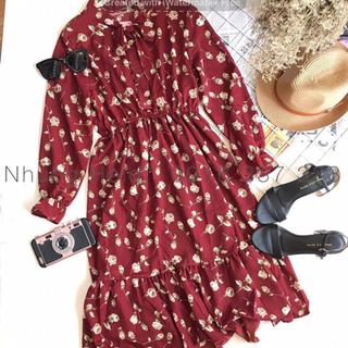 Đầm hoa vintage giá sỉ