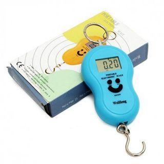Cân điện tử mini cầm tay WeiHeng 40kg giá sỉ