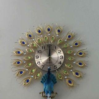 Đồng hồ treo tường chim công DHS40A giá sỉ