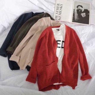 Áo khoác len Cardigan giá sỉ