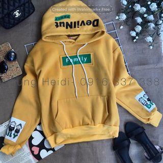 Áo khoác hoodie family giá sỉ