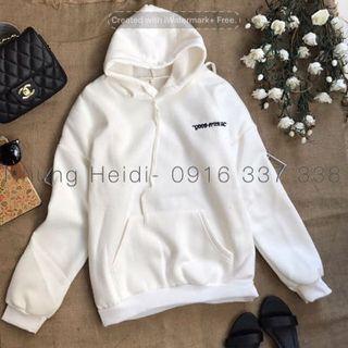Áo khoác hoodie thêu giá sỉ