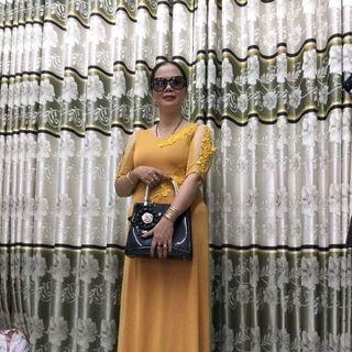 Đầm dạ hội trung niên giá sỉ