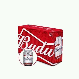 bia Budweiser thùng 24 lon 330ml giá sỉ