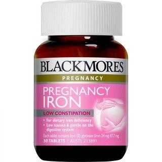 VIÊN UỐNG BỔ SUNG SẮT CHO BÀ BẦU BLACKMORES PREGNANCY IRON 30V giá sỉ