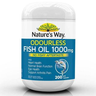 DẦU CÁ KHÔNG MÙI NATURES WAY ODOURLESS FISH OIL 1000MG giá sỉ