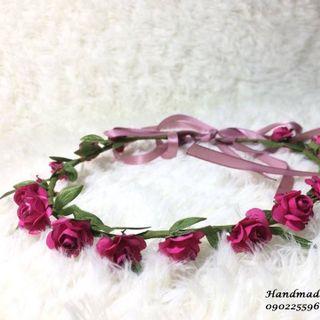 Vòng hoa handmade đẹp rẻ giá sỉ